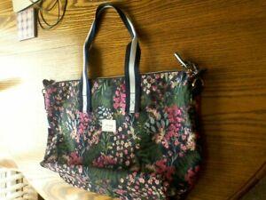 BNWOT Joules Floral Tote/Weekend Bag