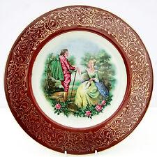 VINTAGE PIASTRA Decorativa 18th secolo Costume Abito