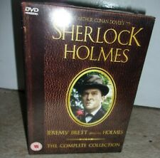 Sherlock Holmes: The Complete Collection ; 16-DVD Box Set ; New ; rare 'book' pa