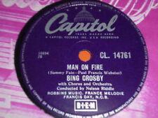 Bing Crosby Easy Listening 78 RPM Records