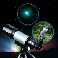 300x70mm Optics Monocular Terrestrial Astronomical Telescope&Barlow Lens&Tripod