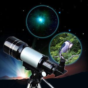 300x70mm Optics Monocular Terrestrial Astronomical Telescope&Barlow Lens&Tripod
