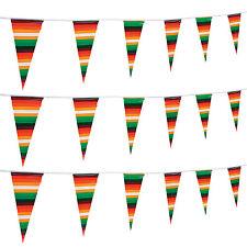 100ft  Serape Pennant Banner Garland FIESTA Cinco De Mayo Luau PARTY Decor