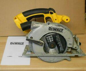 DeWALT DC390 XRP 18 volt Cordless Cicular Saw - Good Condition - All Working