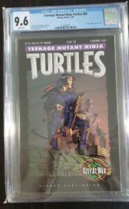 TEENAGE MUTANT NINJA TURTLES 56 CGC 9.6 NM White Pages TMNT City At War Part 7