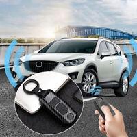 Cover For Mazda 3 5 6 CX5 CX3 CX7 CX9 MX5 Key Shell Carbon Fiber Remote Durabl