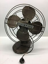 Vintage Robbins & Myers Blade Electric Fan Cast Iron Pedestal
