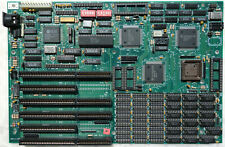Unnamed intel 286 cpu AT motherboard for parts or repair.