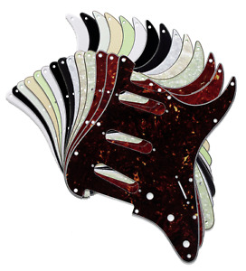 Strat Stratocaster Pickguard Scratch Plate Electric Guitar  USA MEX FIT SSS