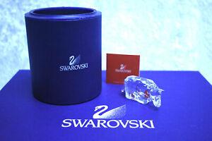 Swarovski Crystal Rhino - 7610 000 006 / 622 941.  Retired 2005. w/box