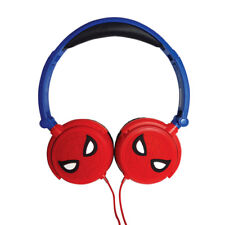 Spider-Man Foldable Stereo Childrens Headphones Volume Limiter Lexibook HP010SP
