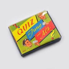 Quiz für Jung und Alt - 8682 - Kartenspiel - Vintage - Fragen & Antworten