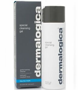 Dermalogica Special Cleansing Gel Gentle-Foaming Face Wash 8.4 oz / 250 ml New