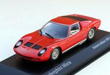 Minichamps Lamborghini Miura P400 Bj. 1966-1972, M. 1:43, rot, limit. 500 pcs