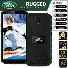 "5.5"" Land Rover Dual SIM Unlocked 4G LTE Android Rugged Smartphone Fingerprint"