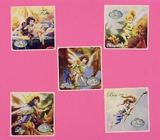 15 Disney Fairies and Tinker Bell - Large Stickers - Party Favors