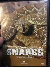 Wildlife Paradise - Snakes region 2 DVD (animal documentary)