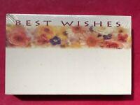 50ct Baby Pastel Polka Dots Circles Blank Florist Enclosure Cards Small Tag