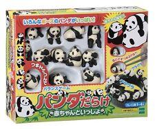New Panda with Baby Balance Game Kids & Family Panda darake Chopsticks Japan