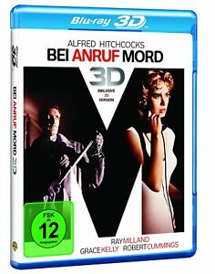 Bei Anruf Mord [3D & 2D /Blu-ray/NEU/OVP] Grace Kelly von Alfred Hitchcock