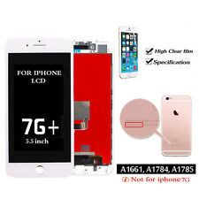 "for White iPhone 7 Plus 5.5"" LCD Display Touch Screen Digitizer Lens Replacement"
