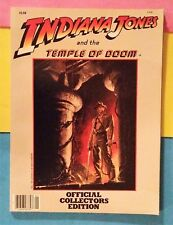 """""""INDIANA JONES and the TEMPLE OF DOOM""""  1984 Collectors Edition - Movie Program"""