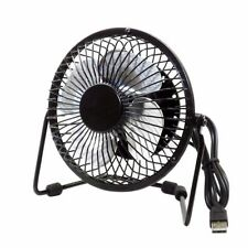 VENTILADOR PORTATIL USB SOBREMESA METALICO MINI FAN PORTABLE SILENCIOSO