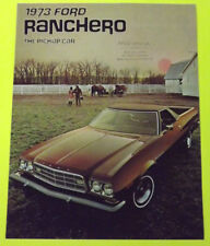 1973 Ford Ranchero Brochure
