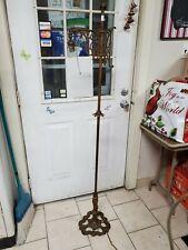 Antique cast iron bridge lamp