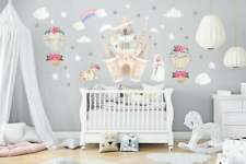 Nursery Wall Decals - Castle Themed Baby Room - Princess Themed Baby Stickers