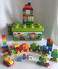 LEGO DUPLO 10558 Number Train & Bin Set 95 Piece Lot