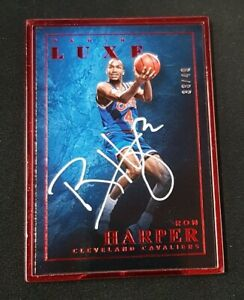 2015-16 Luxe Ron Harper Ruby Metal Frame #/49