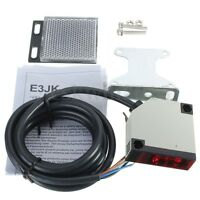 E3JK-R4M1 DC 10-24V 3A Specular Reflection Photoelectric Sensor Switch w/ Screws