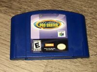 Tony Hawk's Pro Skater 1 Nintendo 64 N64 Cleaned & Tested Authentic