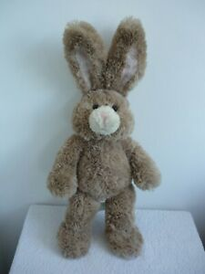 """Official Build A Bear Soft Brown Bunny Rabbit Stand Up Ears Plush Toy 23.5"""" 60cm"""