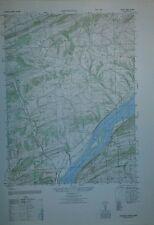 1940's Army Topo Map Dalmatia Pennsylvania Sheet 5665 III NW