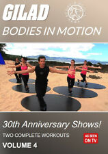 GILAD BODIES IN MOTION 30th ANNIVERSARY SHOWS VOLUME 4 - 2 WORKOUTS NEW SEALED