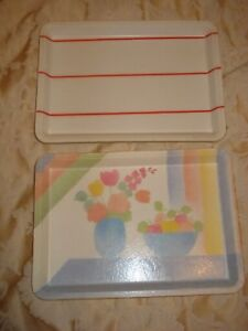 BN 2 MINI TRAYS FOR SERVING FOOD OR SNACKS