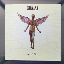 NIRVANA In Utero 2-sided PROMO FLAT 12x12