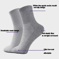 Lots 5 Pairs Men's Casual Winter Warm Socks Soft Cotton Comfortable Sport Sock