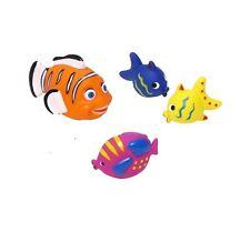 4 bain poisson squirters mer animaux bain toys pour kids 1 ans eau Squirties