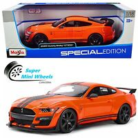 Maisto 1:18 Special Edition - 2020 Ford Mustang Shelby GT500 Orange