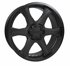 4 Enkei Blackhawk Wheels 20x9.5 5x150 +30 Matte Black Rims