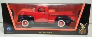 ROAD SIGNATURE COLLECTION 1950 GMC PICKUP 1/18 SIZE DIE CAST NEW / BOX RED 92648