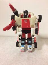 Transformers G1 Vintage Autobot Red Alert
