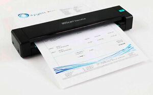 IRIScan Executive 4 Duplex Portable Mobile Document Image Portable Color Scanner