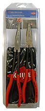 Knipex 9K0080128Us 2Pc Xl Needle Nose Pliers Set With Pouch