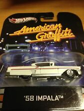 '58 CHEVY IMPALA AMERICAN GRAFFITI * 2013 Hot Wheels Retro Entertainment F