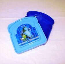 Disney Monster University 'Toast Shaped' Lunch Box Bag Brand New Gift