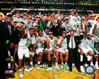 BOSTON CELTICS 2008 NBA CHAMPIONS LICENSED 8X10 PHOTO RAY ALLEN BILL RUSSELL